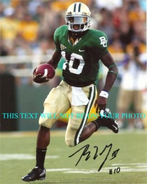 ROBERT GRIFFIN III SIGNED AUTOGRAPHED 8x10 RP PHOTO BAYLOR BEARS