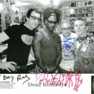 THE DEAD KENNEDYS BAND SIGNED AUTOGRAPHED RP 8x10 PHOTO