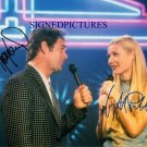 GWYNETH PALTROW AND HUEY LEWIS SIGNED RP PHOTO DUETS