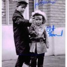 RON & CLINT HOWARD SIGNED AUTOGRAPHED RP ANDY GRIFFITH