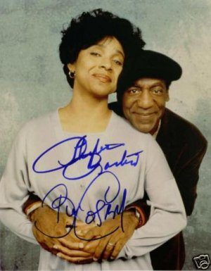 THE COSBY SHOW CAST SIGNED AUTOGRAPHED RP PHOTO BILL +