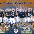 RON ZOOK SIGNED AUTOGRAPHED RP PHOTO ILLINOIS