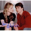 RISKY BUSINESS CAST TOM CRUISE REBECCA DEMORNAY SIGNED AUTOGRAPHED 8X10 RP PHOTO
