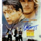 POINT BREAK SIGNED AUTOGRAPHED AUTOGRAPH PHOTO PATRICK SWAYZE & KEANU REEVES