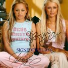 PARIS HILTON AND NICOLE RICHIE SIGNED RP PHOTO SIMPLE L