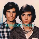 THE HARDY BOYS AUTOGRAPHED 8x10 RP PHOTO SHAUN CASSIDY AND PARKER STEVENSON