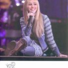 MILEY CYRUS SIGNED AUTOGRAPHED 6x8 RP PHOTO SINGING