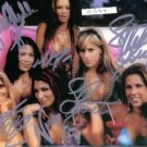 MICKIE JAMES CANDICE MICHELLE TORRIE + SIGNED RP PHOTO