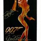 JAMES BOND 007 SIGNED AUTOGRAPHED RP PHOTO PIERCE BROSNAN RICHARDS & MARCEAU