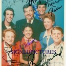 HAPPY DAYS FULL CAST 7 SIGNED RP PHOTO THE FONZ POTSIE