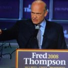 FRED THOMPSON SIGNED RP PHOTO PRESIDENTIAL CANDIDATE
