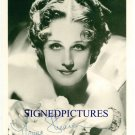 NORMA SHEARER SIGNED RP PHOTO CLASSIC ACTRESS