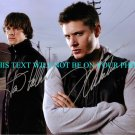 SUPERNATURAL CAST PADALECKI AND ACKLES SIGNED RP PHOTO