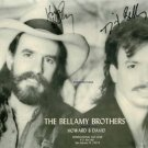 THE BELLAMY BROTHERS SIGNED AUTOGRAPHED RP BELAMY