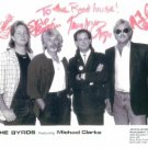 THE BYRDS SIGNED AUTOGRAPHED RP PHOTO MICHAEL CLARKE +