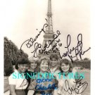THE FACTS OF LIFE CAST SIGNED AUTOGRAPHED RP IN PARIS