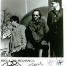 MIKE AND THE MECHANICS SIGNED RP PHOTO RUTHERFORD +