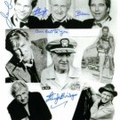 JEFF LLOYD AND BEAU BRIDGES SIGNED AUTOGRAPHED RP PHOTO