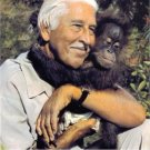 MARLIN PERKINS SIGNED AUTOGRAPHED RP PHOTO WILD KINGDOM