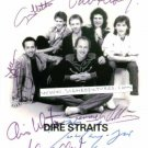 DIRE STRAITS SIGNED AUTOGRAPHED AUTOGRAM PHOTO SULTANS OF SWING