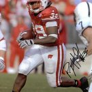PJ HILL SIGNED AUTOGRAPHED RP PHOTO WISCONSIN BADGERS