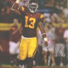 STAFON JOHNSON SIGNED AUTOGRAPHED RP PHOTO USC TROJANS