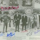 THE BIG CIRCUS CAST 6 SIGNED RP PHOTO RED BUTTONS +