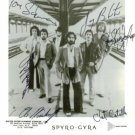 SPYRO GYRA GROUP BAND SIGNED RP PHOTO ALL 6