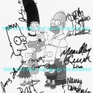 THE SIMPSONS FULL CAST SIGNED AUTOGRAPHED 8X10 RP PHOTO BY 8