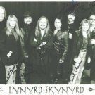 LYNYRD SKYNYRD GROUP BAND SIGNED AUTOGRAPHED RP ALL 7