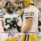 GREG JENNINGS SIGNED AUTOGRAPHED 8x10 RP PHOTO W FAVRE PACKERS