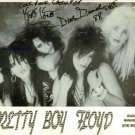 PRETTY BOY FLOYD GROUP SIGNED AUTOGRAPHED RP PHOTO