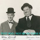 STAN LAUREL AND OLIVER HARDY AUTOGRAPHED 8x10 RP PHOTO  CLASSIC COMEDY