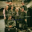 M*A*S*H FULL CAST SIGNED AUTOGRAPHED AUTOGRAPH 8X10 RP PHOTO MASH
