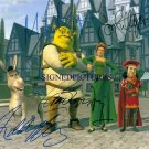 SHREK CAST 4 SIGNED RP PHOTO MYERS DIAZ MURPHY LITHGOW