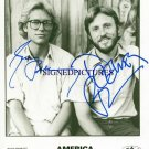 AMERICA BAND SIGNED RP DEWEY BUNNELL AND GERRY BECKLEY