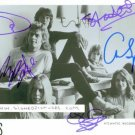 YES GROUP BAND 5 SIGNED AUTOGRAPHED RP PHOTO ROUNDABOUT