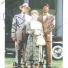 DRIVING MISS DAISY DAN AYKROYD JESSICA TANDY MORGAN FREEMAN SIGNED 8x10 RP PHOTO