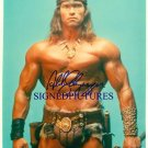 ARNOLD SCHWARZENEGGER SIGNED RP PHOTO CONAN AWESOME