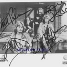 ASIA GROUP BAND SIGNED AUTOGRAPHED AUTOGRAM RP PHOTO HEAT MOMENT