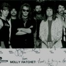 MOLLY HATCHET SIGNED AUTOGRAPHED RP PHOTO SOUTHERN ROCK