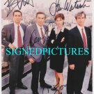 LAW AND ORDER CAST SIGNED AUTOGRAPHED 8x10 RP PHOTO JERRY ORBACH BENJAMIN BRATT +