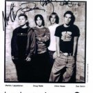 HOOBASTANK GROUP BAND SIGNED AUTOGRAPHED RP PHOTO