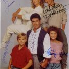GROWING PAINS CAST SIGNED AUTOGRAPHED RP PHOTO ALL 5