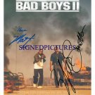 BAD BOYS 2 SIGNED RP PHOTO WILL SMITH & MARTIN LAWRENCE