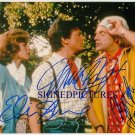 BACK TO THE FUTURE CAST SIGNED RP PHOTO FOX LLOYD SHUE