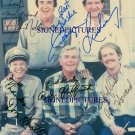 ANDY GRIFFITH DON KNOTTS JIM NABORS AND RON HOWARD + SIGNED AUTOGRAPH 8X10 RP PHOTO