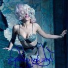 LADY GAGA SIGNED AUTOGRAPHED RP PHOTO SO VERY SEXY