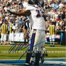 WILLIS MCGAHEE AUTOGRAPHED 8x10 RP PHOTO BALTIMORE RAVENS - U OF M