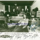 BOSTON GROUP BAND SIGNED AUTOGRAPHED 8x10 PHOTO BRAD DELP TOM SCHOLZ HASHIAM SHEEHAN